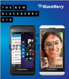 BlackBerry Z10 is RIM's first new smartphone in 2013