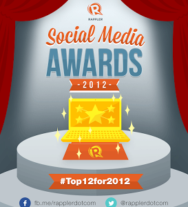 Netizens cast votes for Rappler Social Media Awards