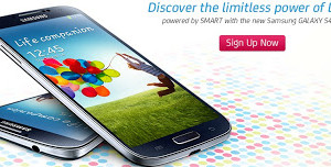Smart now accepts Samsung Galaxy S4 pre-orders online with a promo