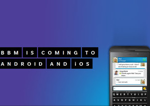 BlackBerry to bring BBM to Android, iOS users
