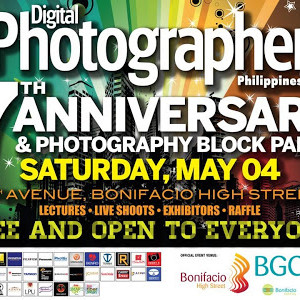 Digital Photographer Philippines to celebrate 7th Anniversary with Photography Bloc Party