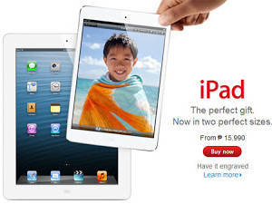 iPad Mini is now officially in the Philippines