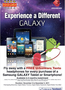 Promo Alert: Get a FREE Urbanears Headphone for every Samsung Galaxy Tab or Smartphone Purchase