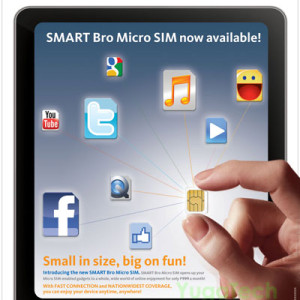 Smart Bro Micro SIM is Finally Here!