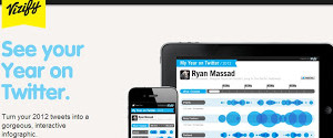 Twitter partners with Vizify to generate user's 'Year on Twitter'