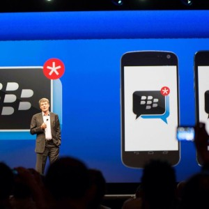 What happened to the launch of BBM for iOS and Android?