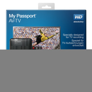 Western Digital (WD) simplifies TV recording and playback with the New My Passport AV-TV