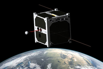 Diwata, the first Philippine-made micro-satellite, may look like this upon completion. Image from Rappler
