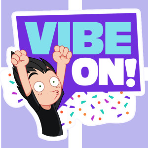 Vibe On and get the new stickers from Viber