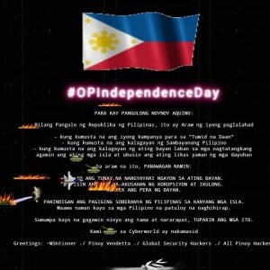 Hackers deface NHCP website on Independence Day