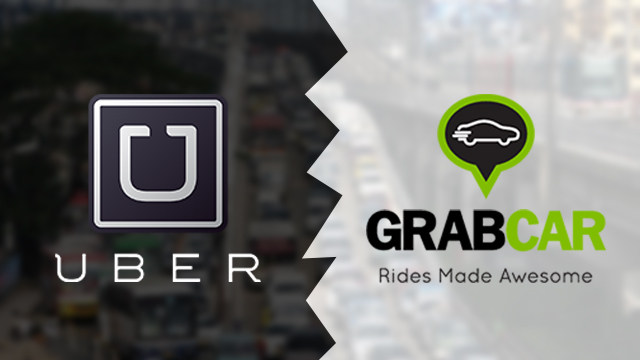 LTFRB vs Uber and GrabCar (Photo Credit: Rappler)