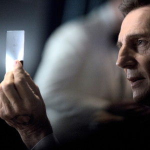 Liam Neeson transports TV Technology from the future in LG's first-ever Super Bowl commercial
