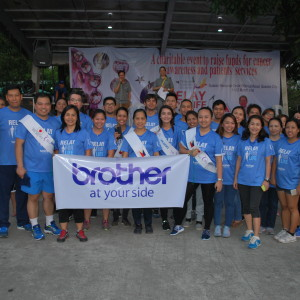 Brother PH employees join cancer patients, support groups in overnight vigil