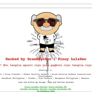 Pinoy LulzSec defaces DepEd Angeles City website on Election Day