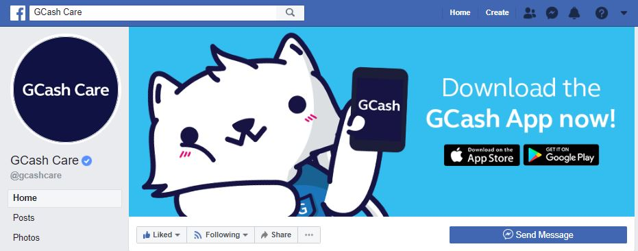 Fake GCash Care in FB gets owned