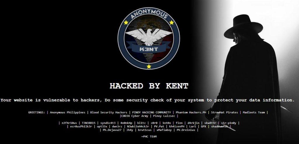 Hacker defaces 4 Honda Cars websites